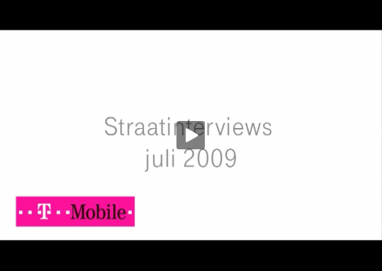 T-Mobile straatinterviews