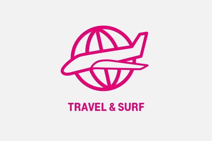 Travel en Surf