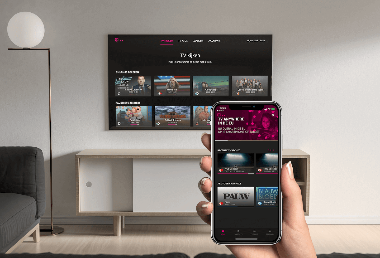 TV Anywhere App