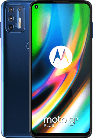 Motorola G9 plus 128GB Blauw