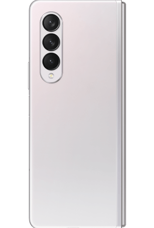 Samsung Galaxy Z Fold 3 Zilver