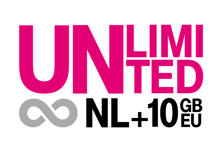 Go Unlimited NL & 10 GB EU