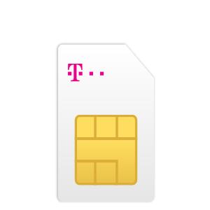 T-Mobile Sim Only 3 in 1 simkaart