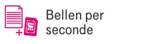 Bellen per seconde