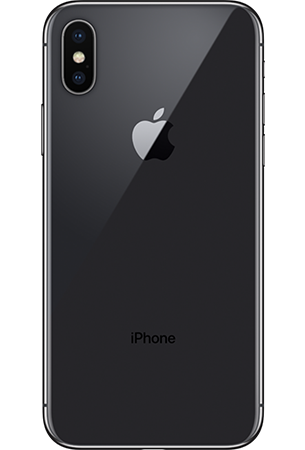 Apple iPhone X 64GB Zwart