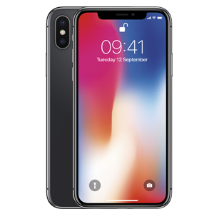 Apple iPhone X Zwart