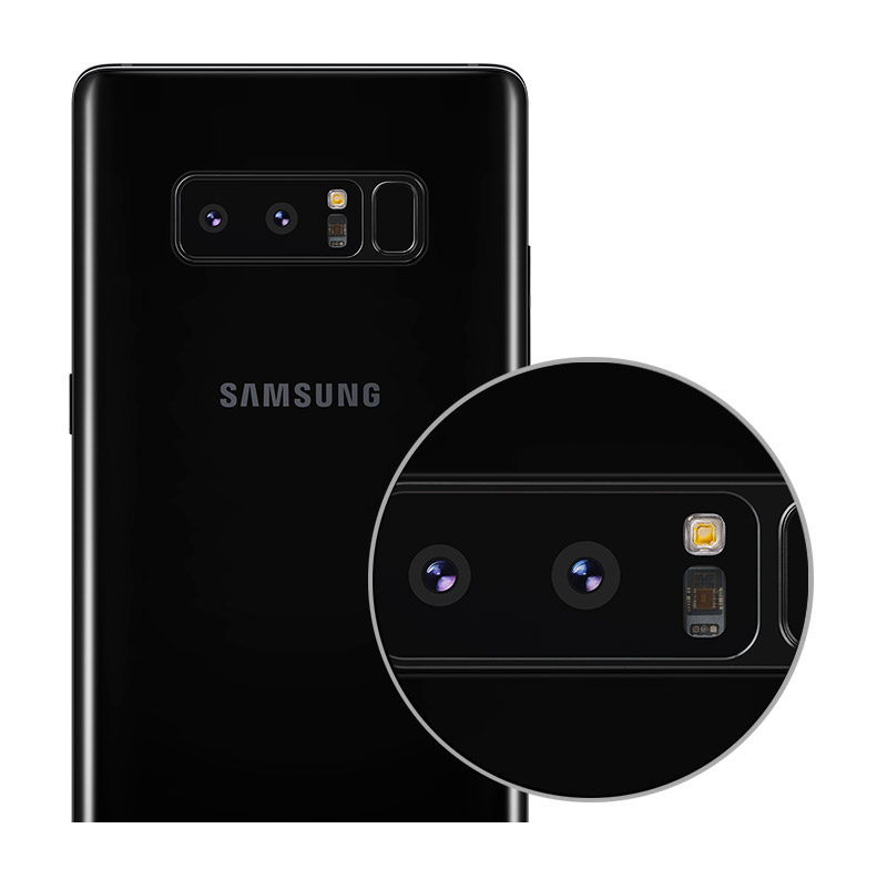 Meer over de camera's van de Samsung Galaxy Note 8