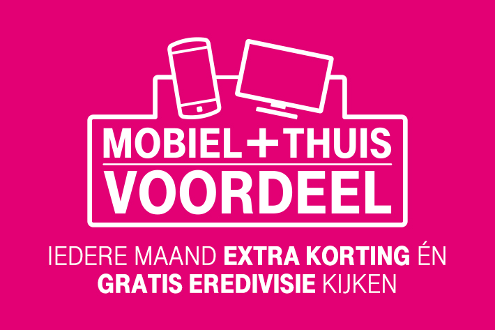 De voorwaarden voor Mobiel + Thuis Voordeel