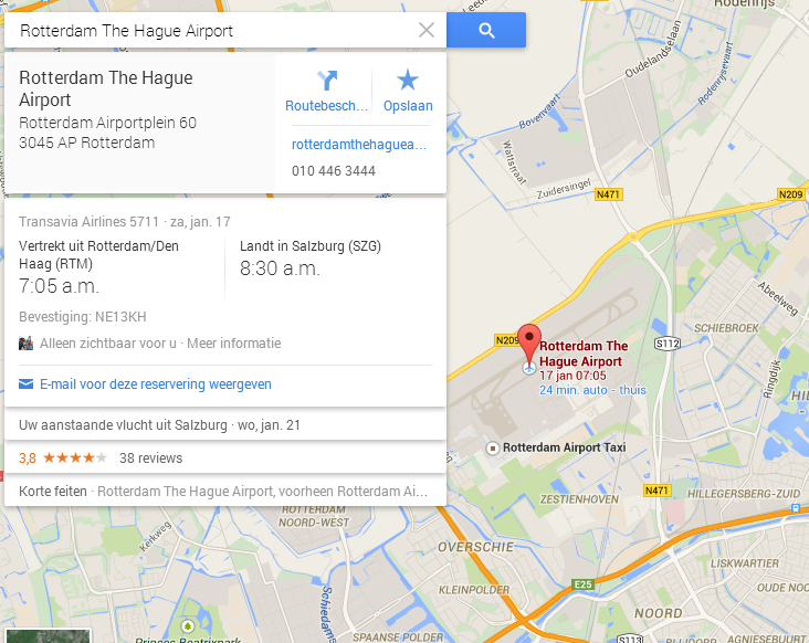 Rotterdam The Hague Airport   Google Maps