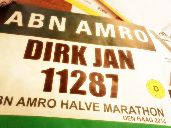 Halve Marathon met Runkeeper