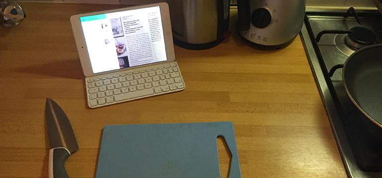 iPad als kookboek