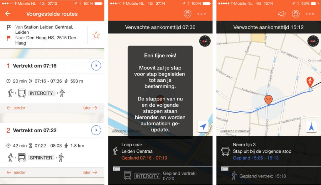 Moovit OV app
