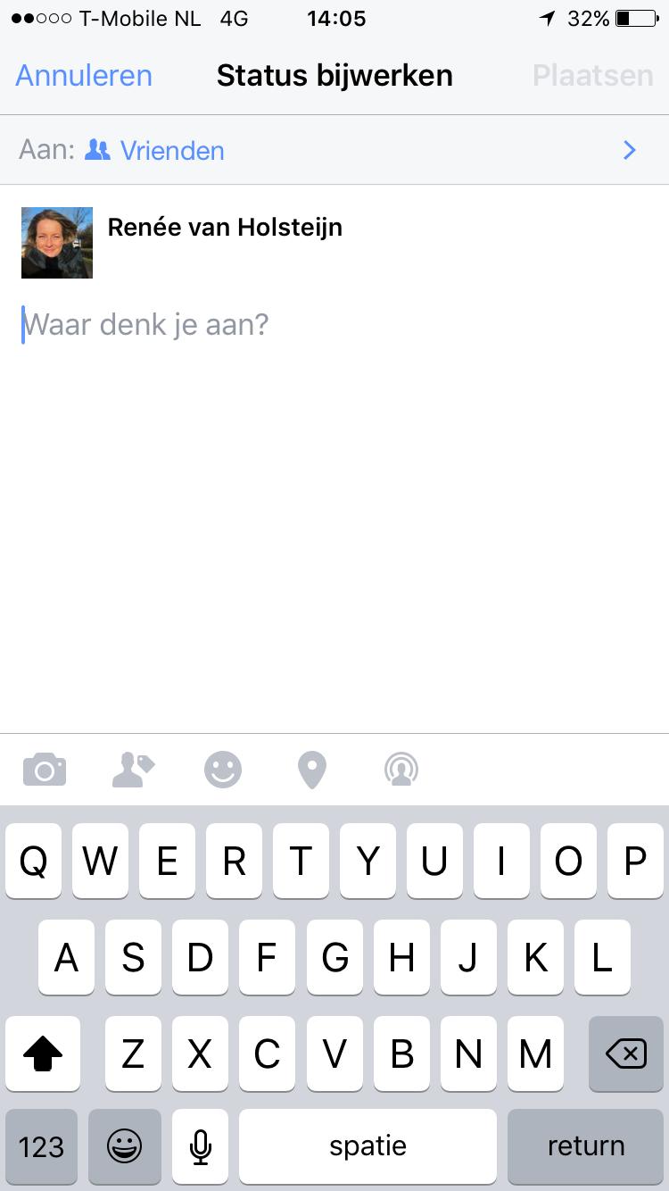 status iphone