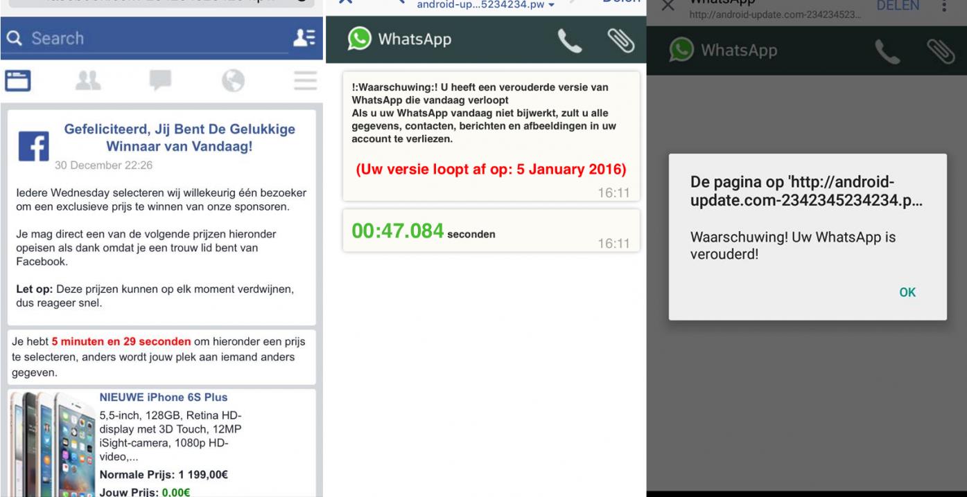 whatsapp verouderd virus