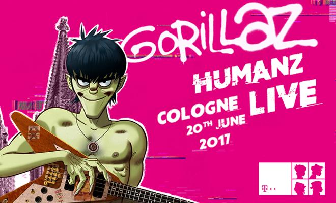 Gorillaz | Keulen