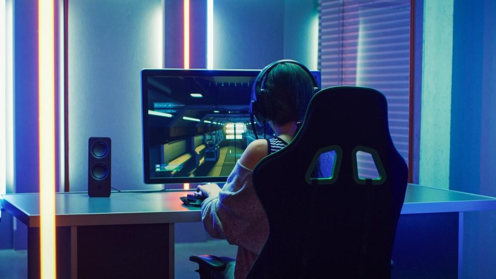 gaming setup stoel