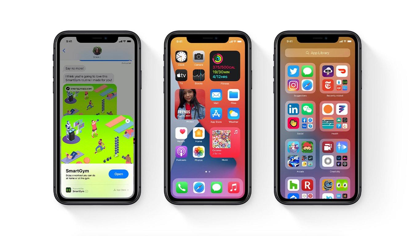 ios 14 nieuwe iphone update widgets