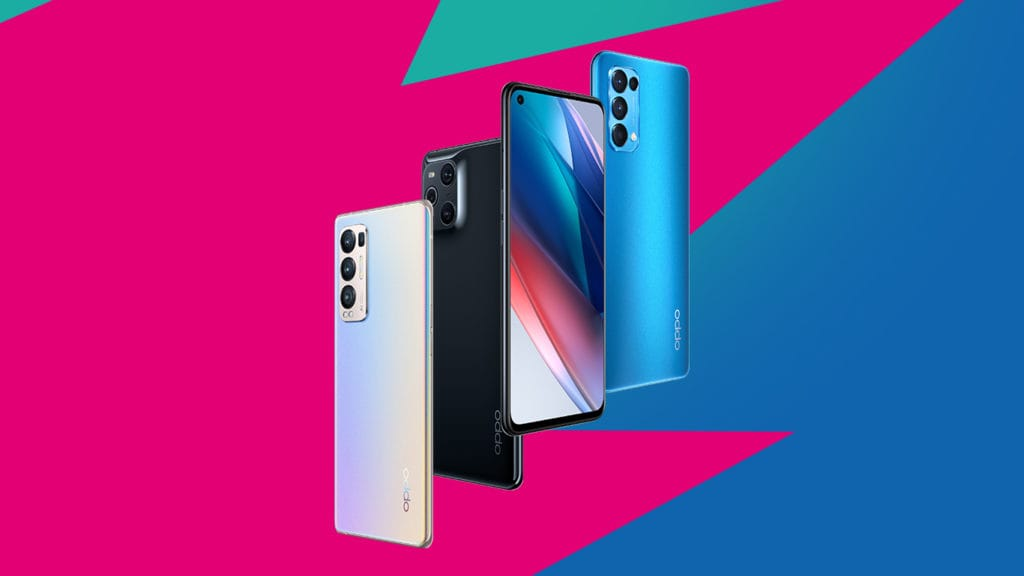 OPPO Find X3-telefoons