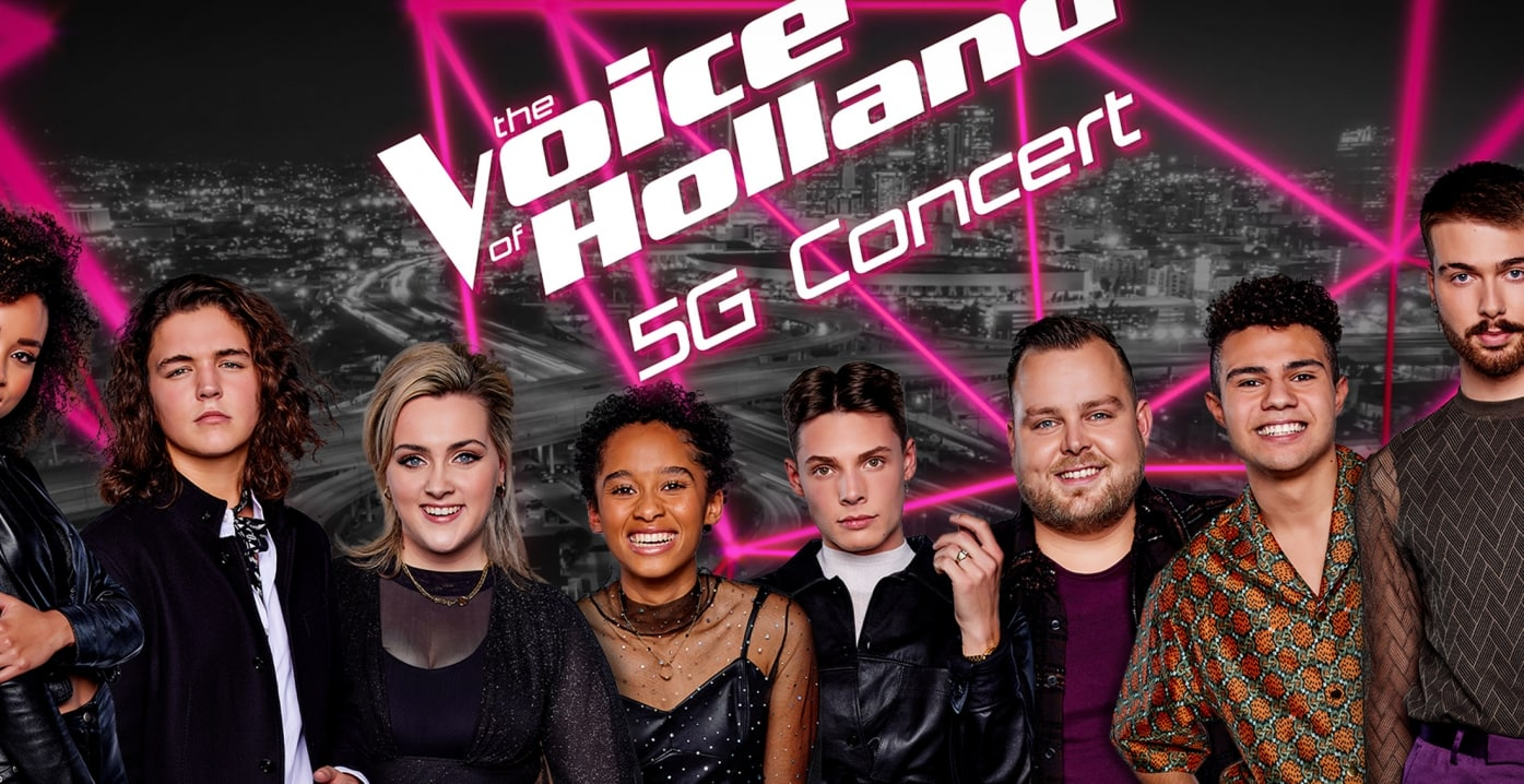 the voice 5g optreden concert t-mobile unlimited