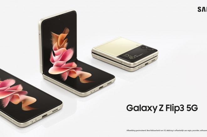 samsung galaxy z flip3 main visual