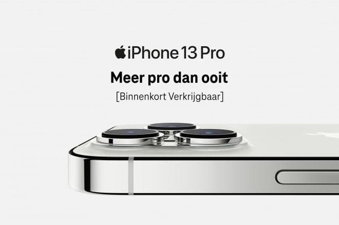 iphone 13 telefoons aangekondigd